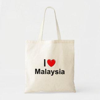 I Love Heart Malaysia Tote Bag