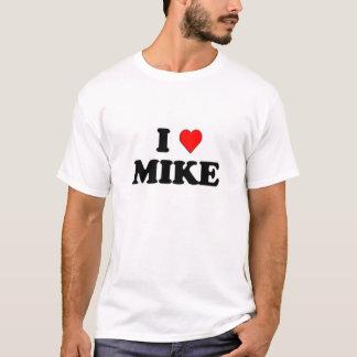 I Love (heart) Mike T-Shirt