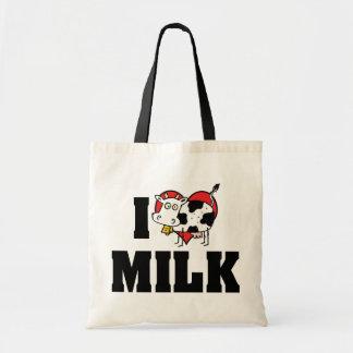 I Love Heart Milk - Cow Juice Dairy Lover
