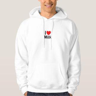 I Love Heart Milk Hoodie