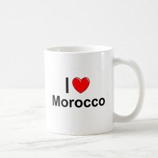 I Love Heart Morocco Coffee Mug