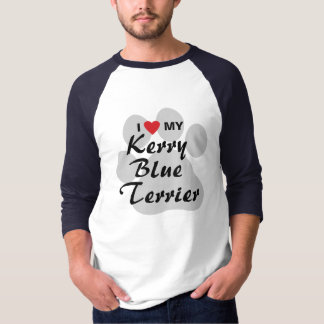 I Love (Heart) My Kerry Blue Terrier Shirt