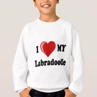 I Love (Heart) My Labradoodle Dog Tees