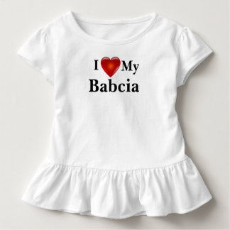 I Love Heart My Ukrainian Babcia Shirt