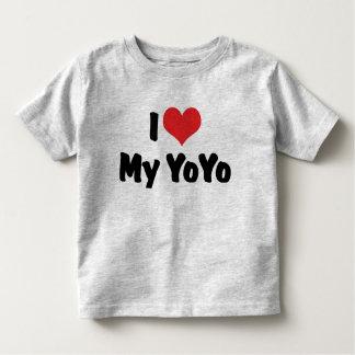 I Love Heart My YoYo Toddler T-shirt