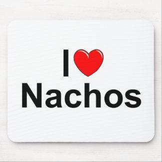 I Love (Heart) Nachos Mouse Pad