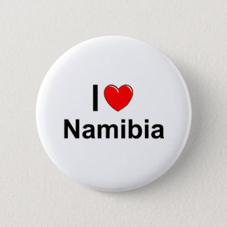 I Love Heart Namibia 2 Inch Round Button