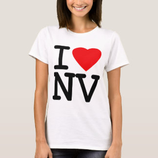I Love Heart Nevada T-Shirt