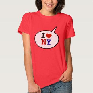 I love - heart new york shirts