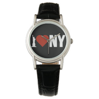 I Love Heart New York Watch