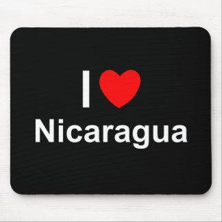 I Love Heart Nicaragua Mouse Pad