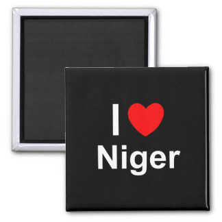 I Love Heart Niger Magnet