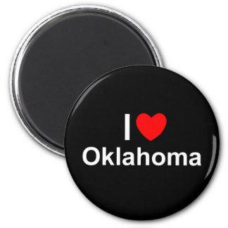 I Love (Heart) Oklahoma Magnet