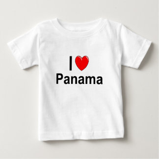 I Love Heart Panama Baby T-Shirt