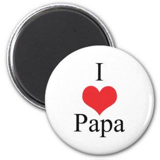 I Love (Heart) Papa Magnet