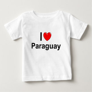 I Love Heart Paraguay Baby T-Shirt
