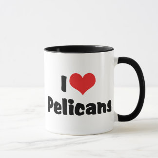 I Love Heart Pelicans - Pelican Lover Mug