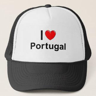 I Love Heart Portugal Trucker Hat