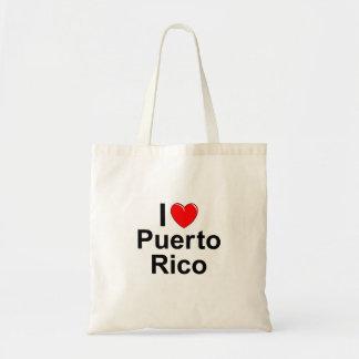 I Love Heart Puerto Rico Tote Bag