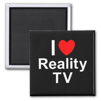 I Love Heart Reality TV Magnet