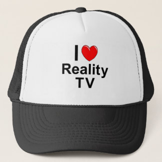 I Love Heart Reality TV Trucker Hat