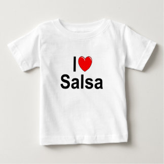 I Love (Heart) Salsa Baby T-Shirt