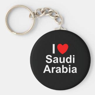 I Love Heart Saudi Arabia Keychain