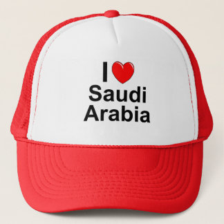 I Love Heart Saudi Arabia Trucker Hat