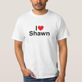 I Love (Heart) Shawn T-Shirt