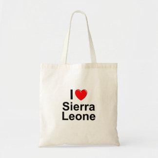 I Love Heart Sierra Leone Tote Bag