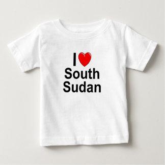 I Love Heart South Sudan Baby T-Shirt