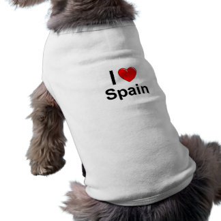 I Love Heart Spain Shirt