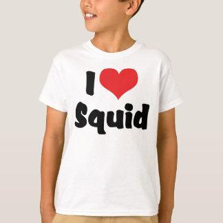 I Love Heart Squid T-Shirt