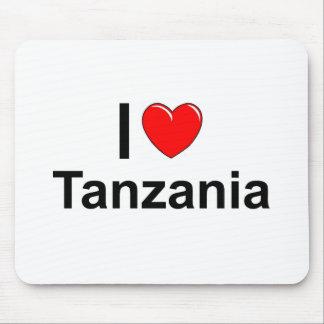 I Love Heart Tanzania Mouse Pad
