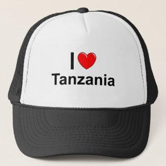 I Love Heart Tanzania Trucker Hat