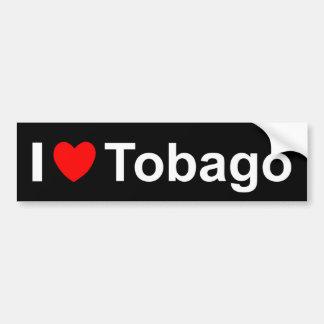 I Love Heart Tobago Bumper Sticker
