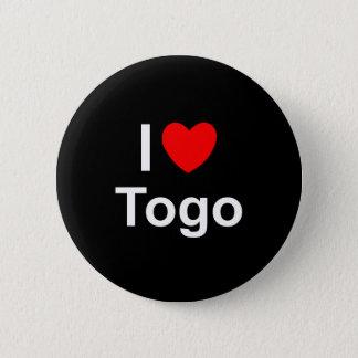 I Love Heart Togo 2 Inch Round Button
