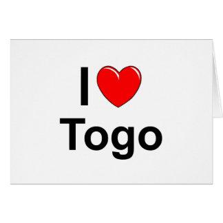 I Love Heart Togo Card