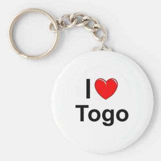 I Love Heart Togo Keychain