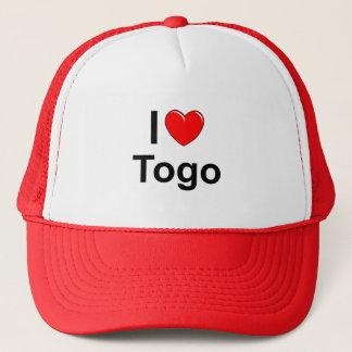 I Love Heart Togo Trucker Hat