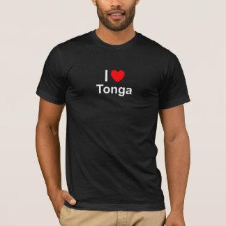 I Love heart Tonga T-Shirt