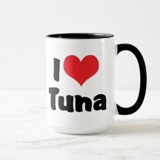I Love Heart Tuna Mug