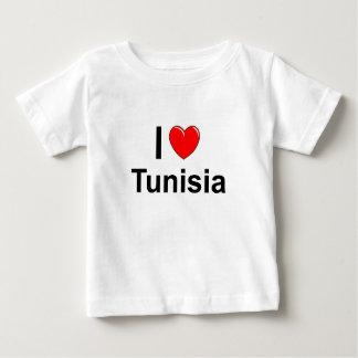 I Love Heart Tunisia Baby T-Shirt