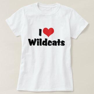I Love Heart Wildcats T-Shirt