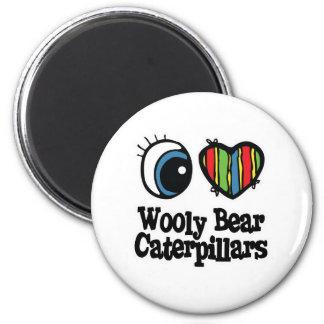 I Love (Heart) Wooly Bear Caterpillars Magnet