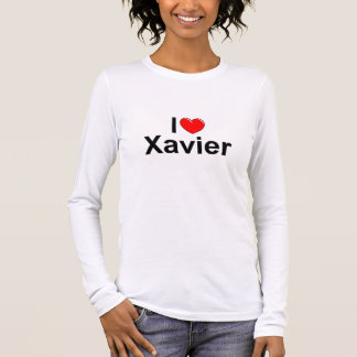 I Love (Heart) Xavier Long Sleeve T-Shirt