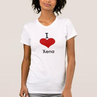 I Love (heart) Xena T Shirts