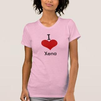 I Love (heart) Xena Tshirts