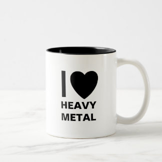 I Love Heavy Metal Mug