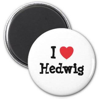 I love Hedwig heart T-Shirt Fridge Magnet